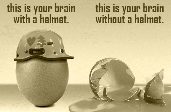Your Brain on Helmets