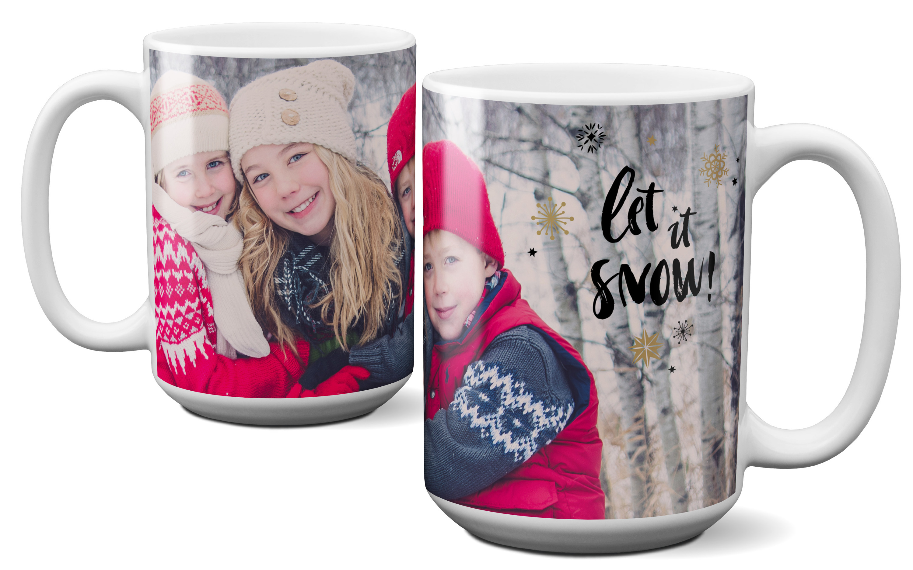 Custom Photo Mug 15oz