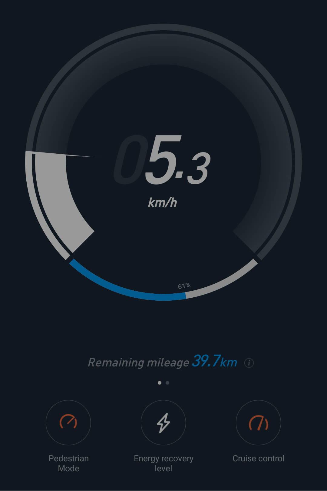Ninebot Max G30 app pedestrian mode