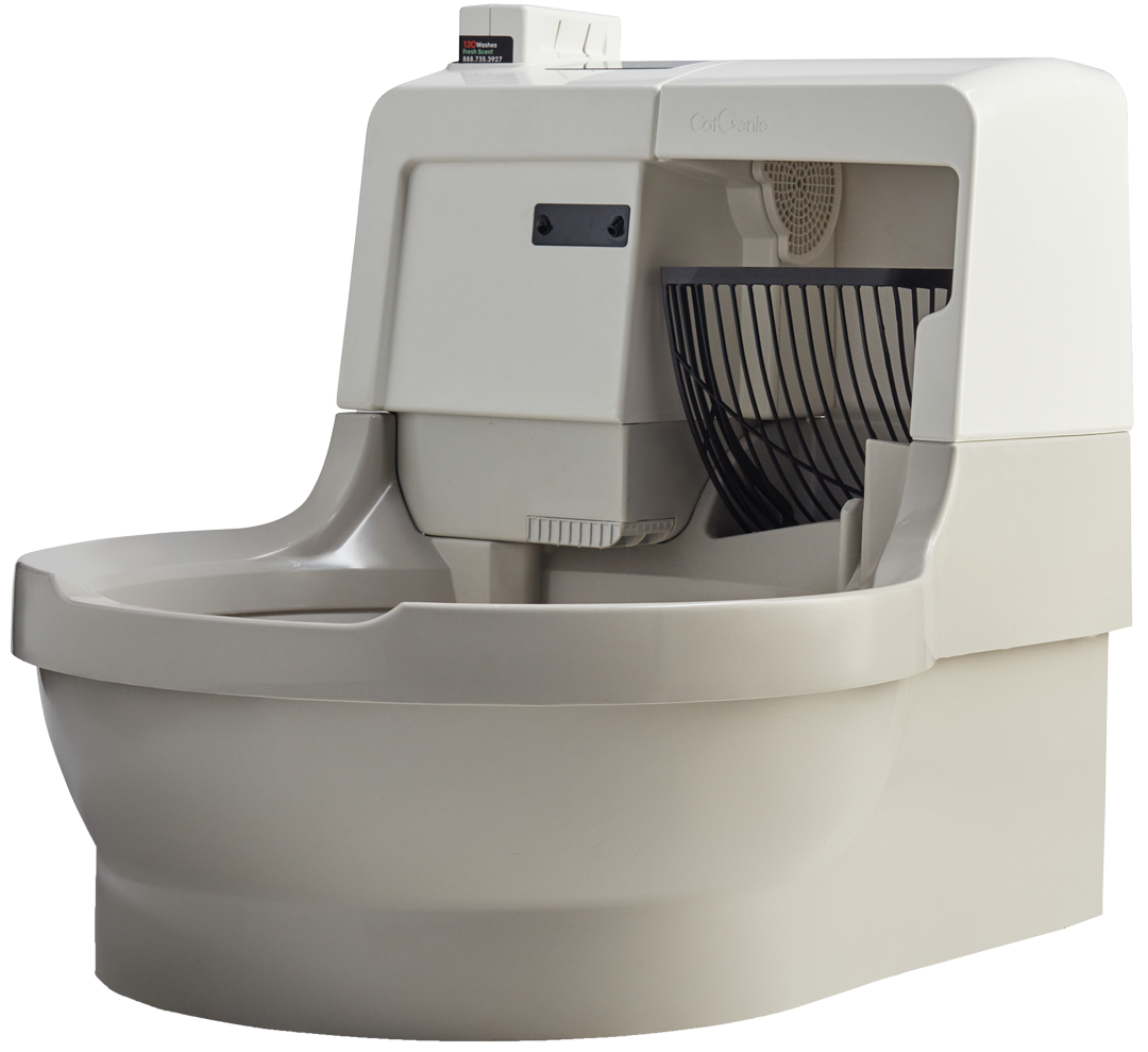 CatGenie automatic self-cleaning litter box