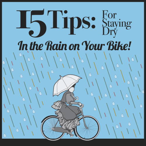 15 Tips for staying dry on a bike in the rain