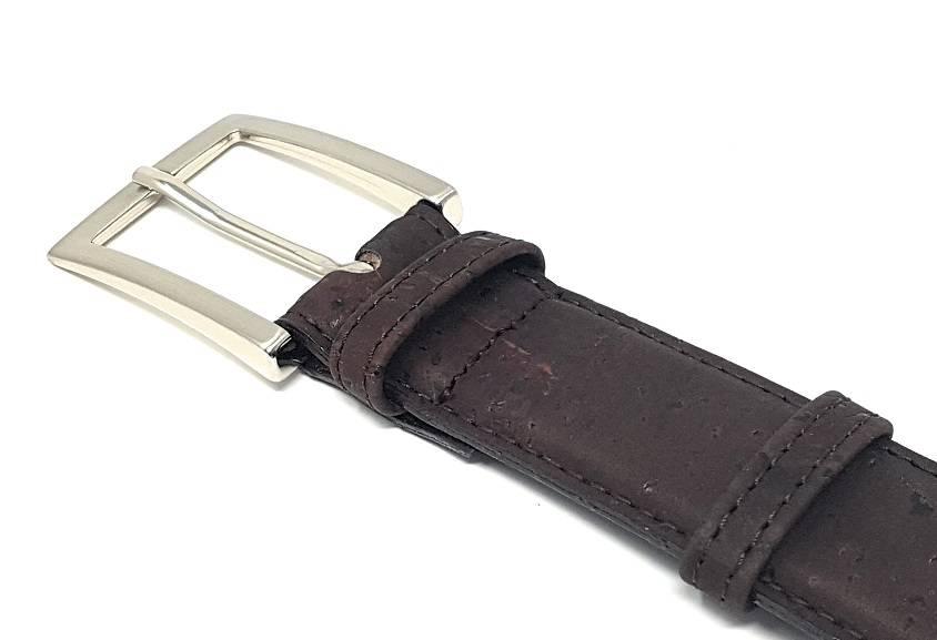 Mens Vegan Belts Brown