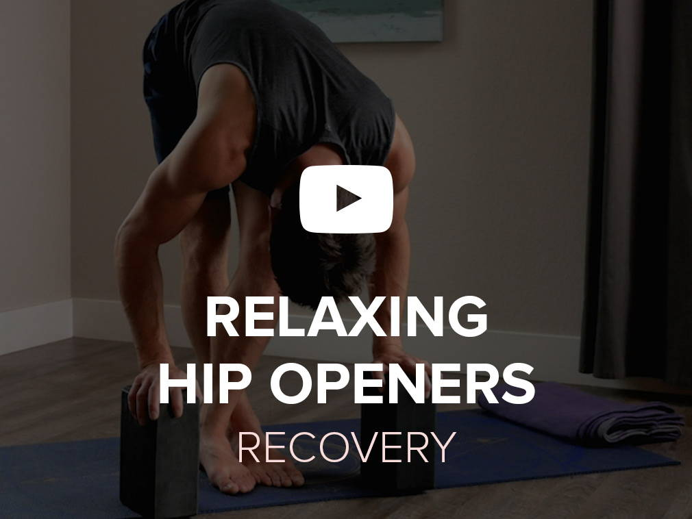 Guided recovery for relaxing hip openers