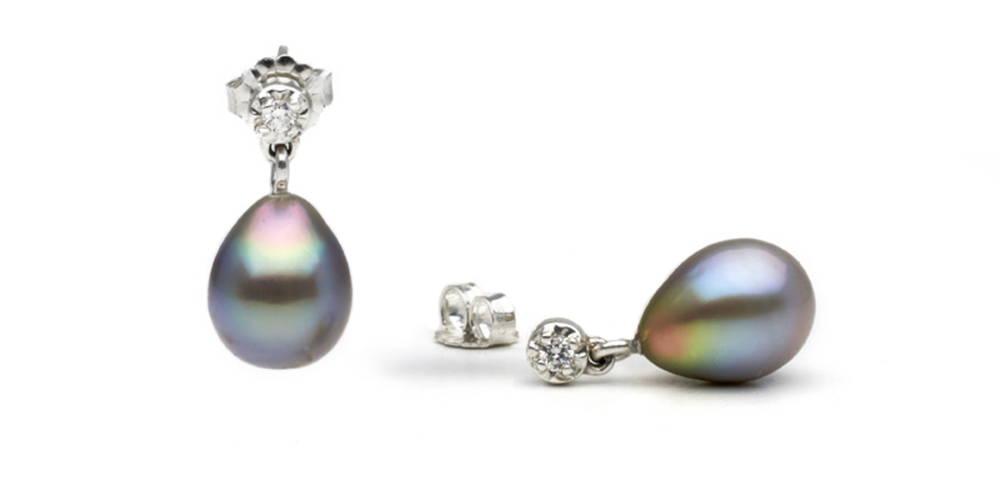 Pearl Colors: Blue-Overtone Sea of Cortez Pearls