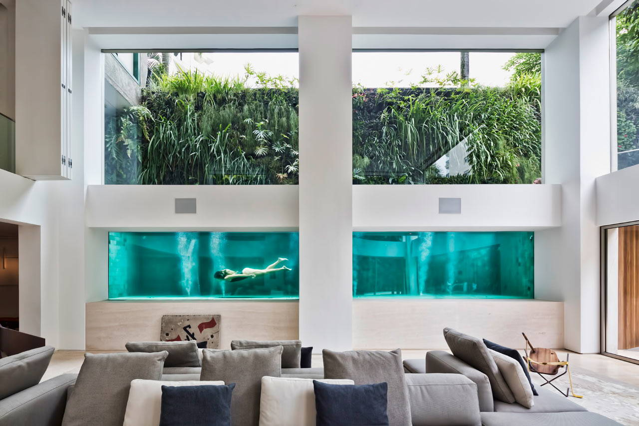 Contempo | Swimming Pool As Art | Fernanda Marques Arquitetos