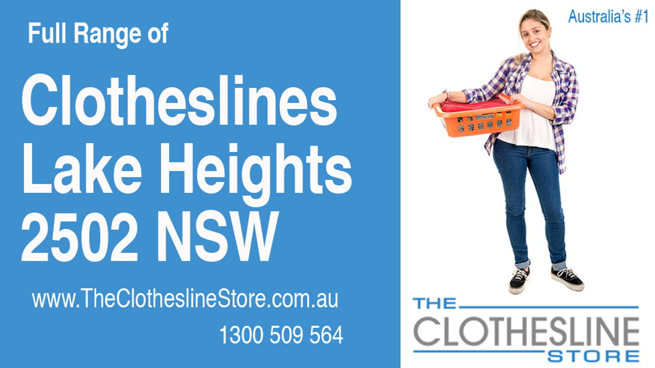 New Clotheslines in Lake Heights 2502 NSW