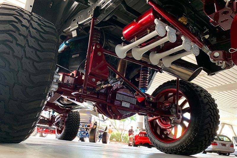 Spare Tire Delete Install