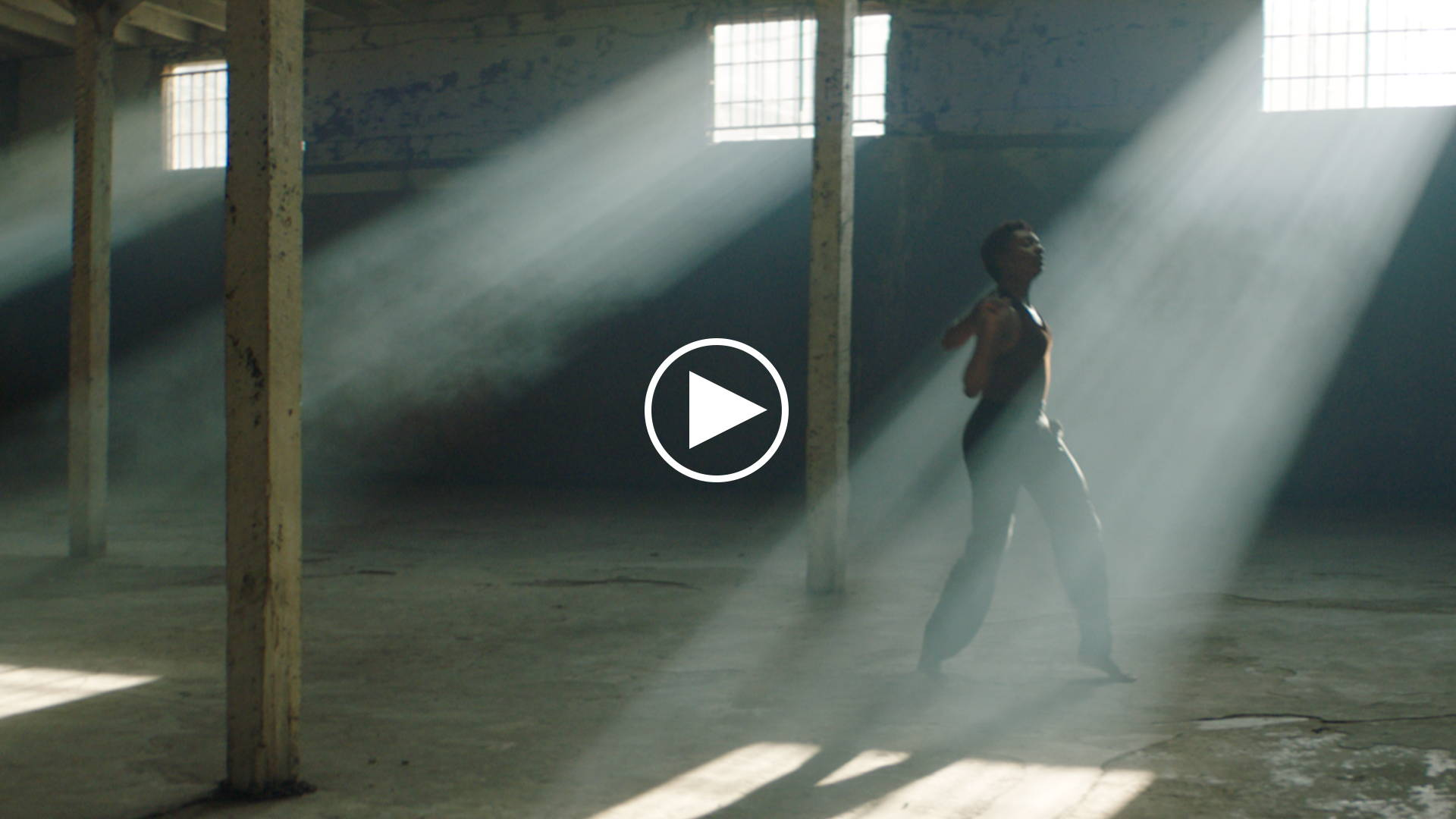Picture of a dancer that links to our video titled: Made to Create | Campaign
