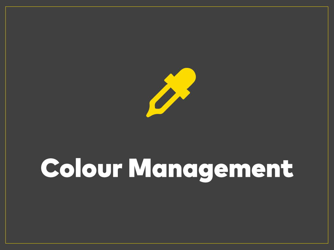 Colour Management Through HP and GMG technologies we deliver consistent, repeatable colour with any media combination.  With Italic colour management your colours always stay the same.