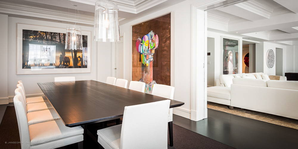 JANGEORGe Interiors & Furniture project in Manhattan, NY, with Frigerio, GT Design, Moroso and Lumina furniture and lighting