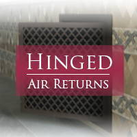 Air Return Grilles that use filters