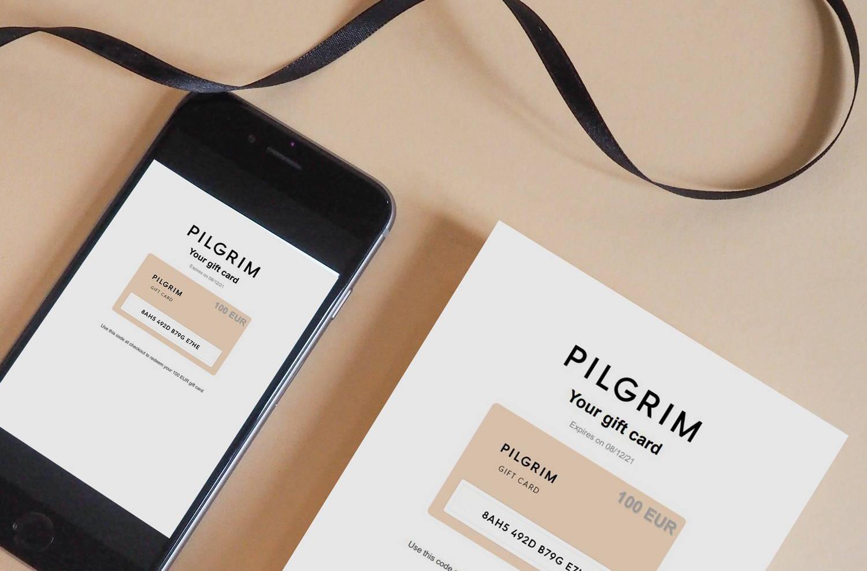 Pilgrim-presentkort
