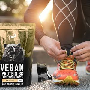 nu3 Vegan Protéine 3K - le moment idéal
