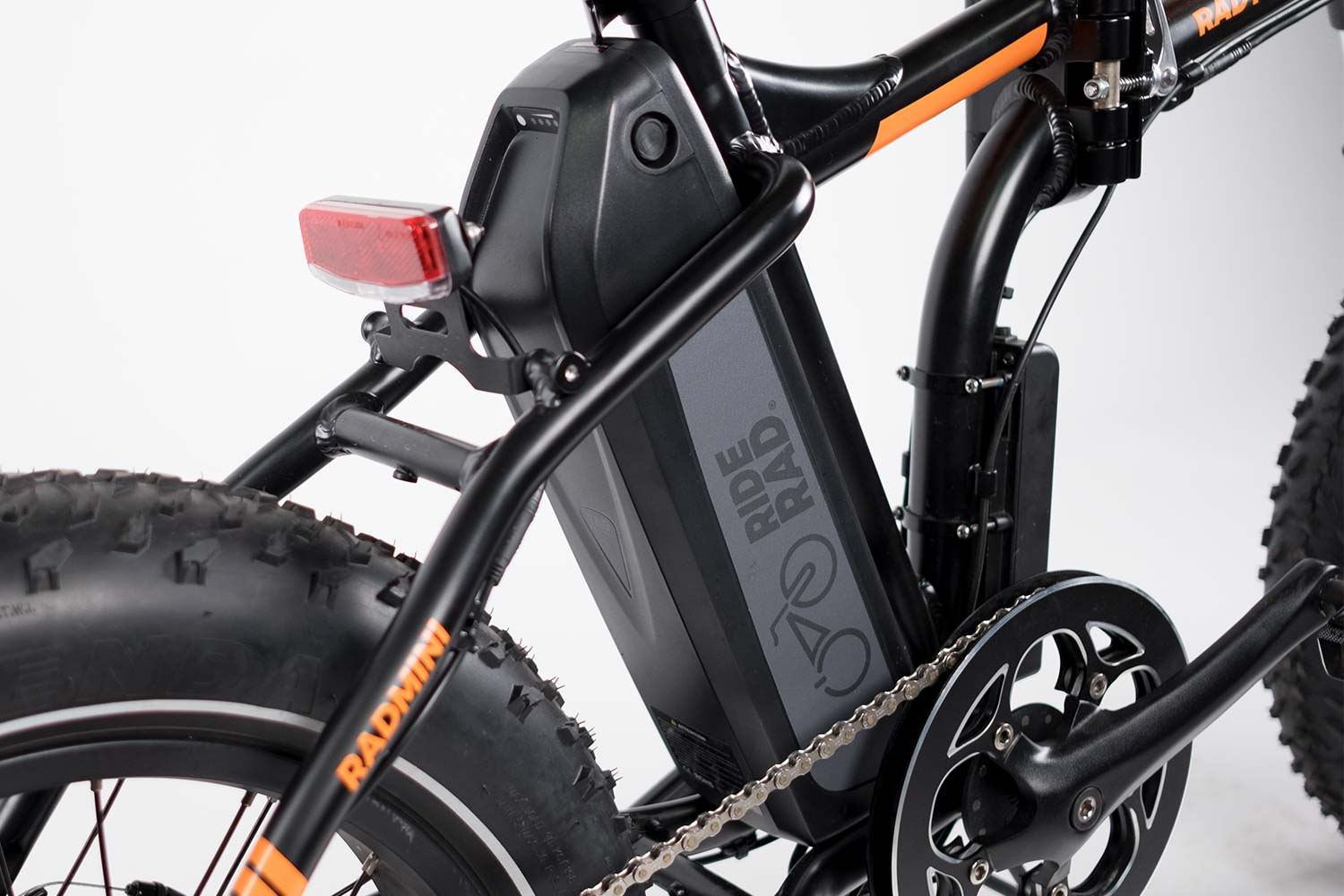 2019 Radmini Electric Folding Fat Bike Rad Power Bikes