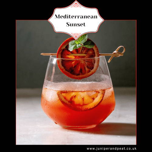 How to make a Mediterranean Sunset cocktail