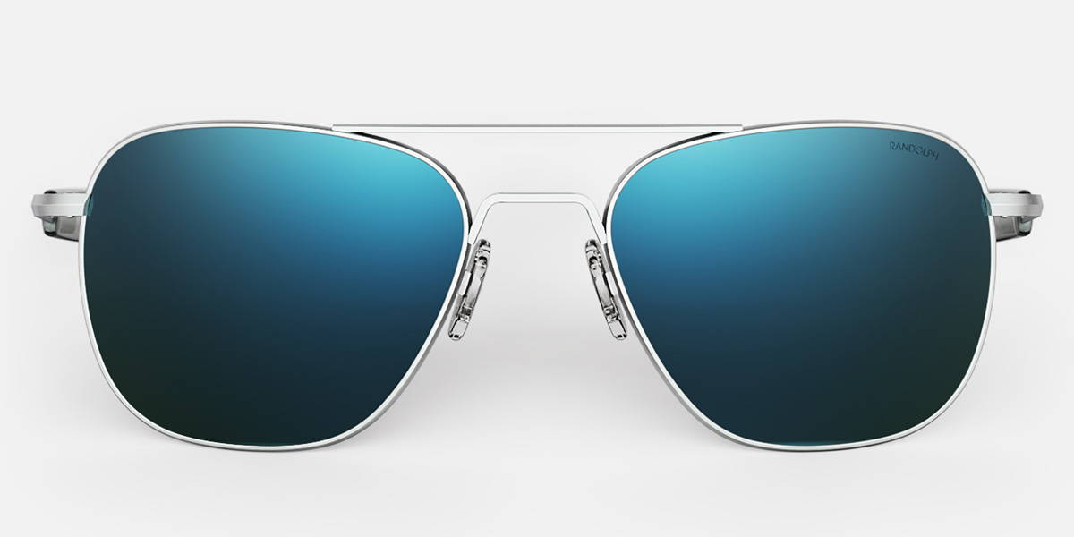 Matte Chrome Aviators