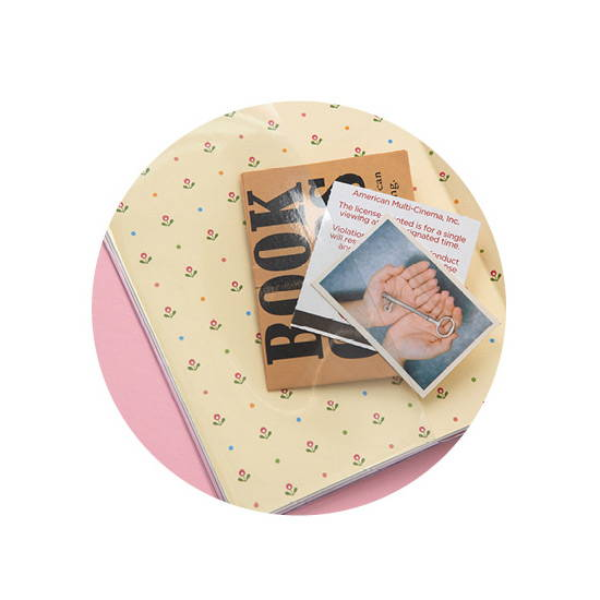 Inner pocket - Ardium 2020 Hello coco dated weekly diary planner