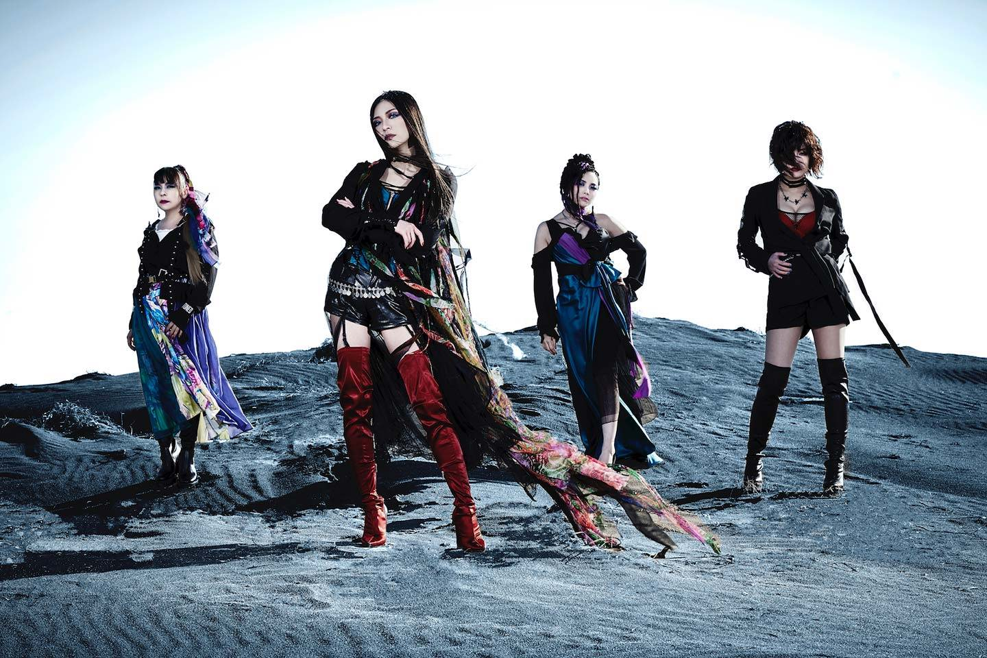 Mary's Blood band pic Japanese female metal band