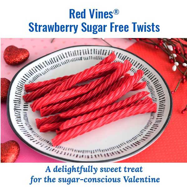Red Vines Strawberry Sugar Free Twists