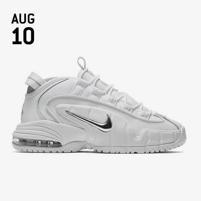 san francisco bb9e6 40b1d NIKE AIR MAX PENNY 1 - White White-Metallic Silver