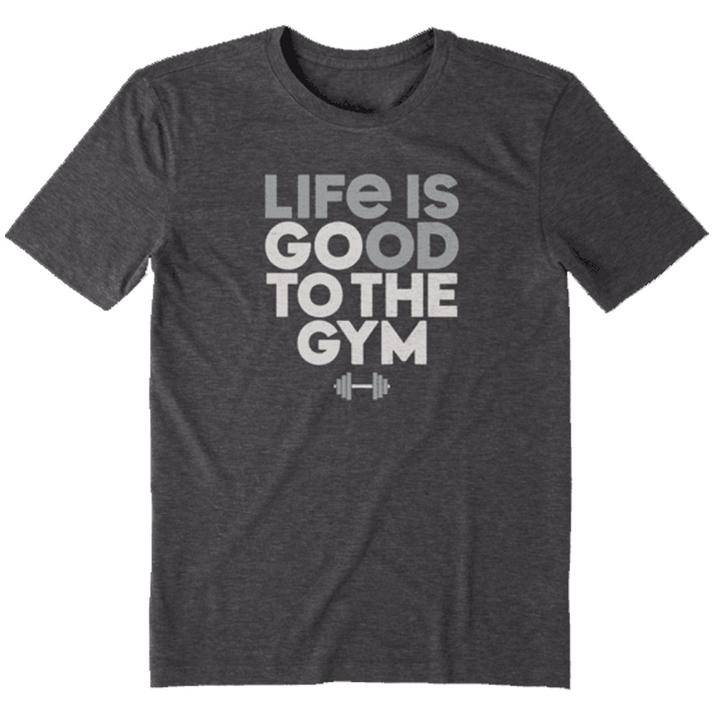 Life is Good Go to the Gym Men's Tee