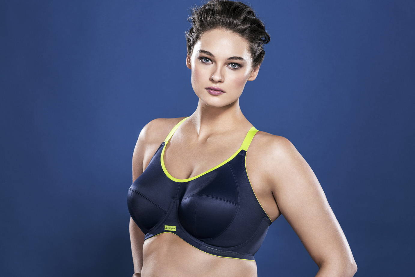 #elomi #DD+ #DDand up #supportive sports bras #lift and support #energise #uniboob #jhook