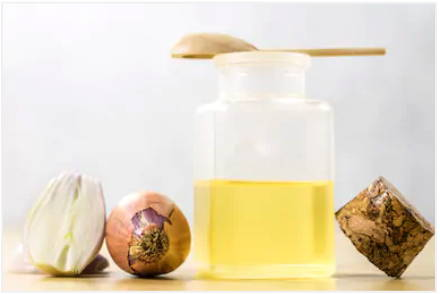 before and after onion juice for hair growth