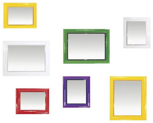 Our favorite modern mirrors may come in all shapes and sizes.