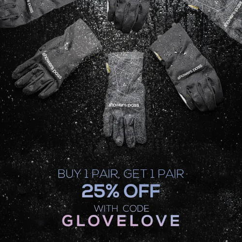 showers pass buy one get one free gloves