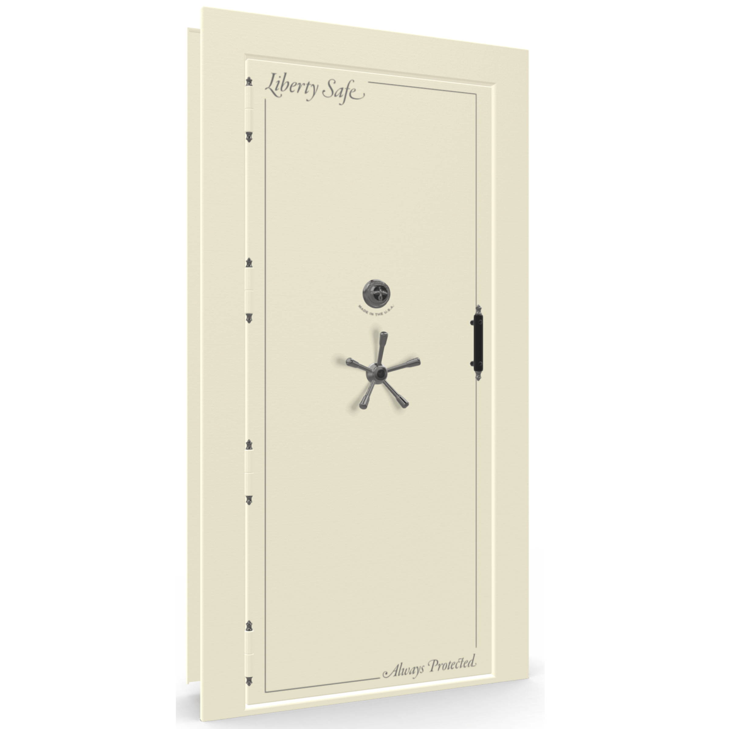 Out swing left hinge vault door