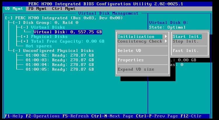 Dell PERC H700 Raid Configuration Guide | TechMikeNY
