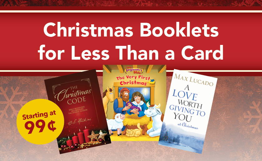Christmas Booklets for Less Than a Card