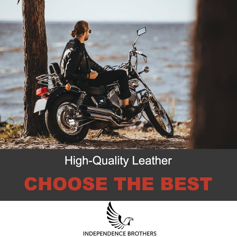 High-quality leather jacket