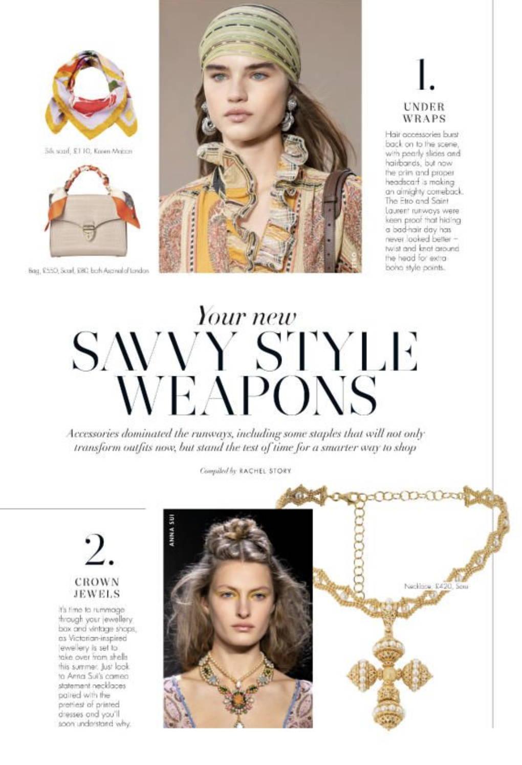 soru jewellery santina choker in hello fashion monthly