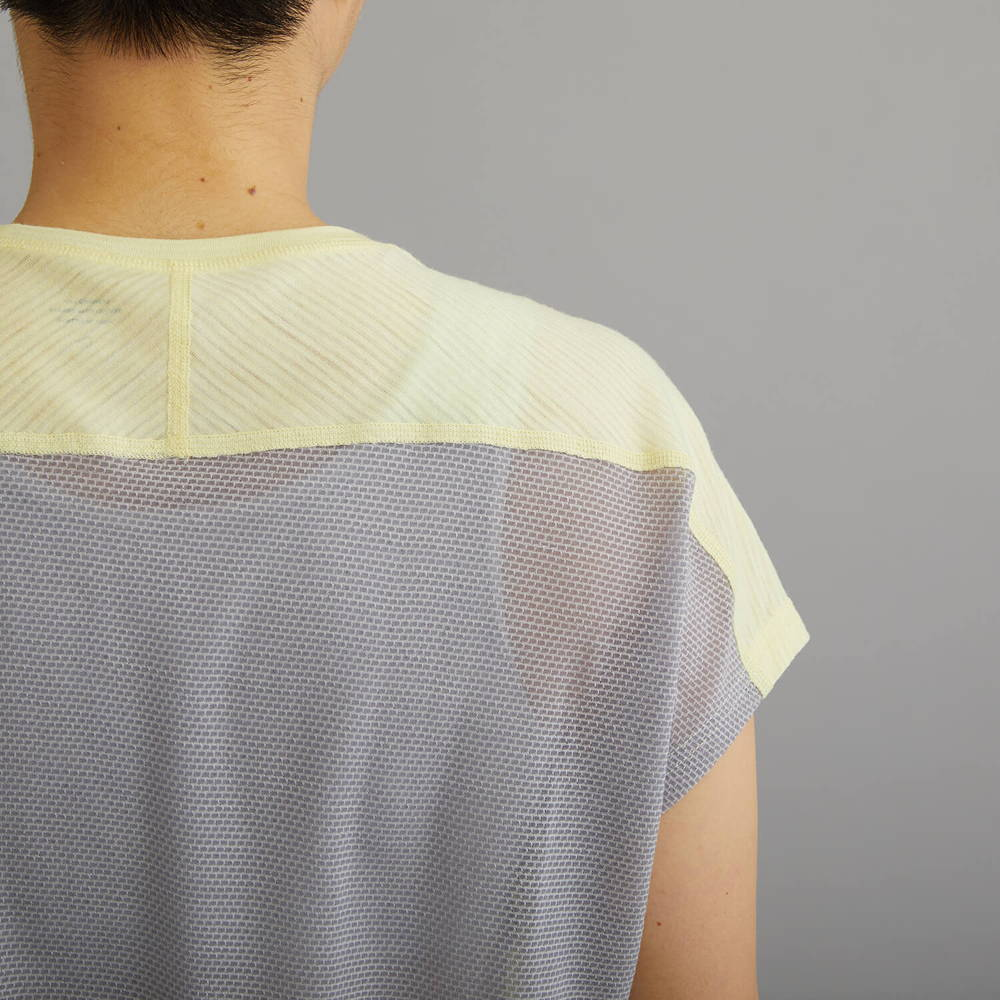 NORRONA(ノローナ)/ビティホーン ウールTシャツ/イエロー/WOMENS