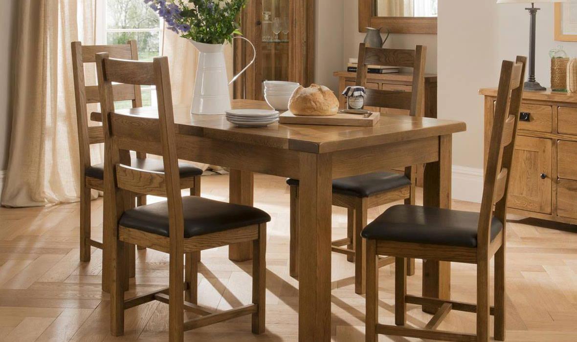 Auvergne Oak Dining