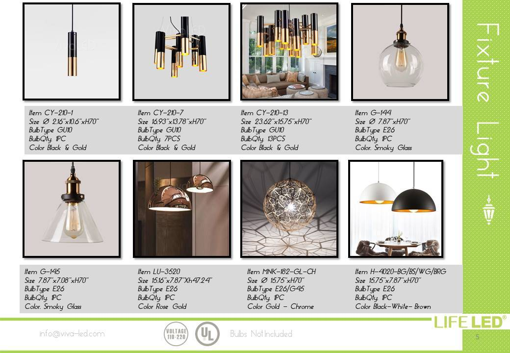 Kitchen Light Fixtures Miami Life LED
