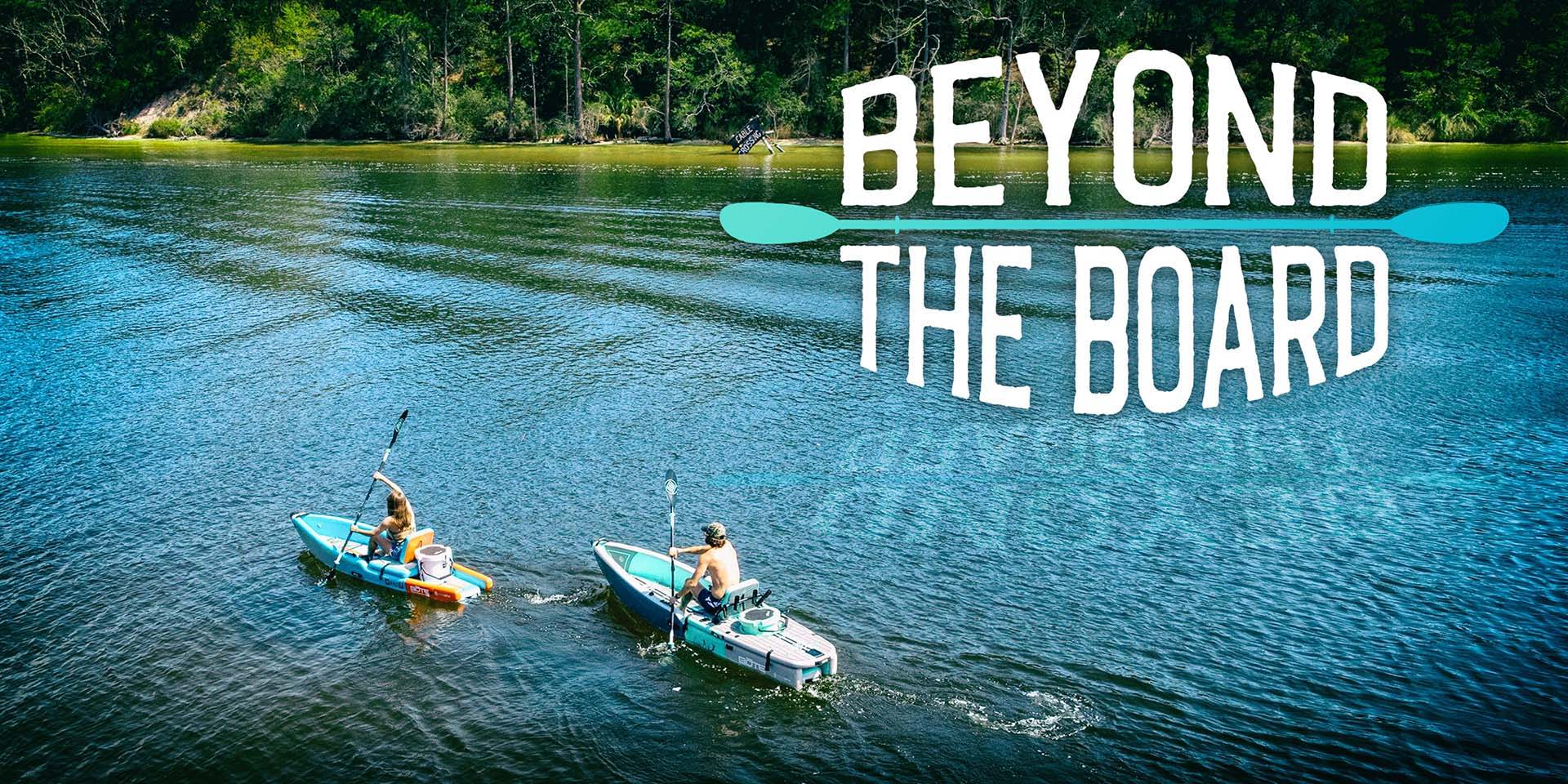 Beyond the Board – An Inflatable Kayak with the Soul of a Stand Up Paddle Board
