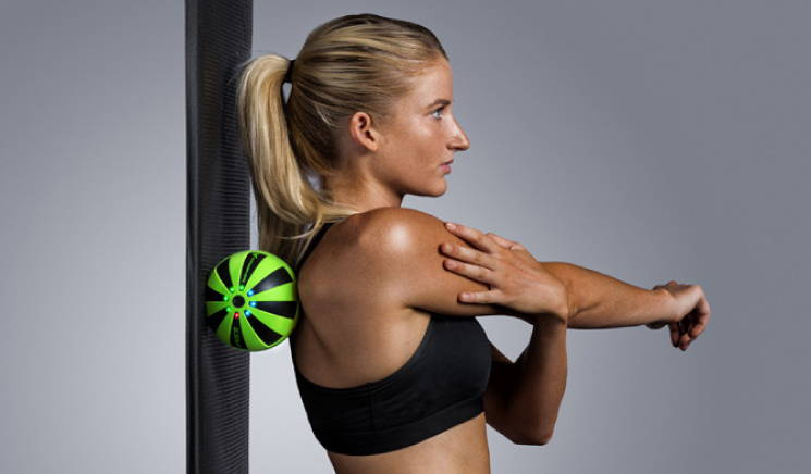 Hyperice Hypersphere Shoulder / Upper back instructions