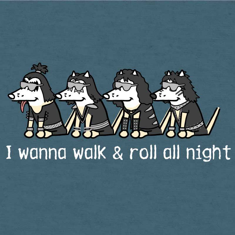 Shop teddy the dog I wanna walk and roll all night pup culture collection