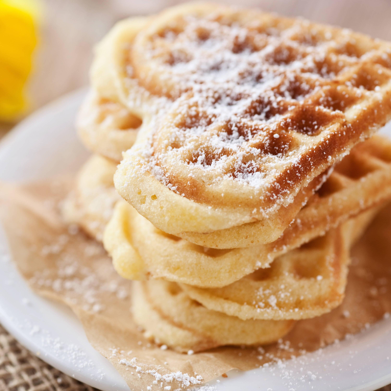 Classic Heart Waffles