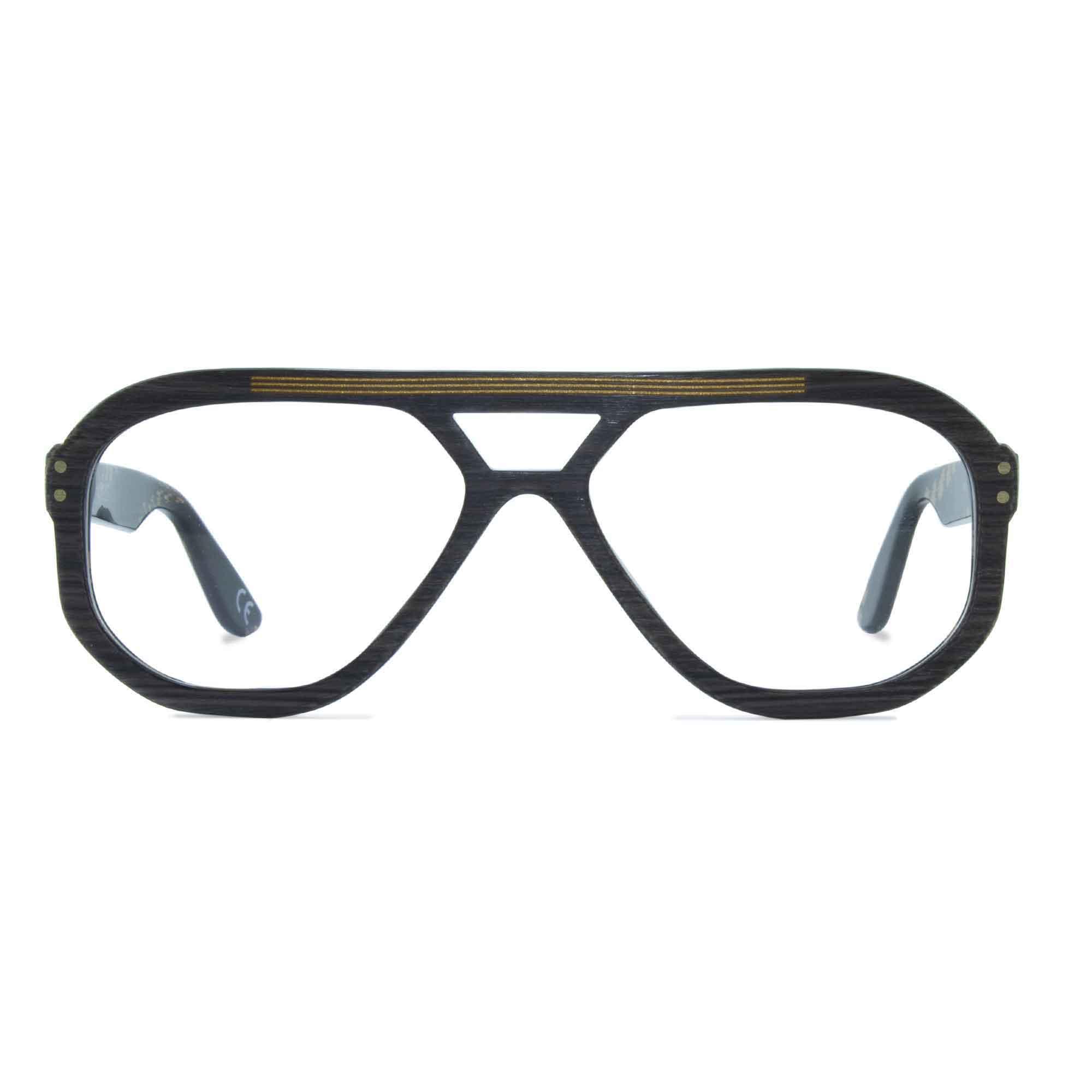 Joiuss jim dark wood navigator glasses