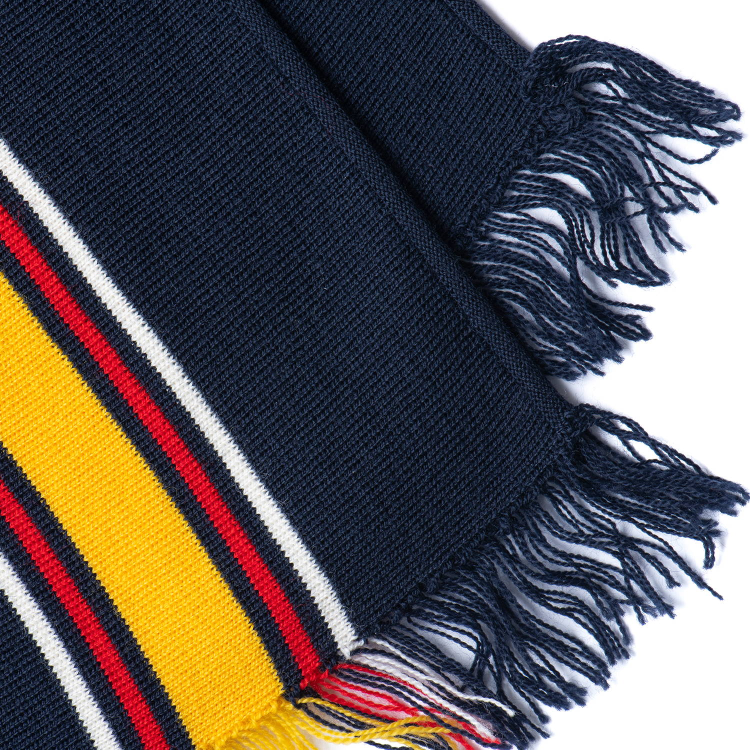 Custom knitted scarf by Valour Sport