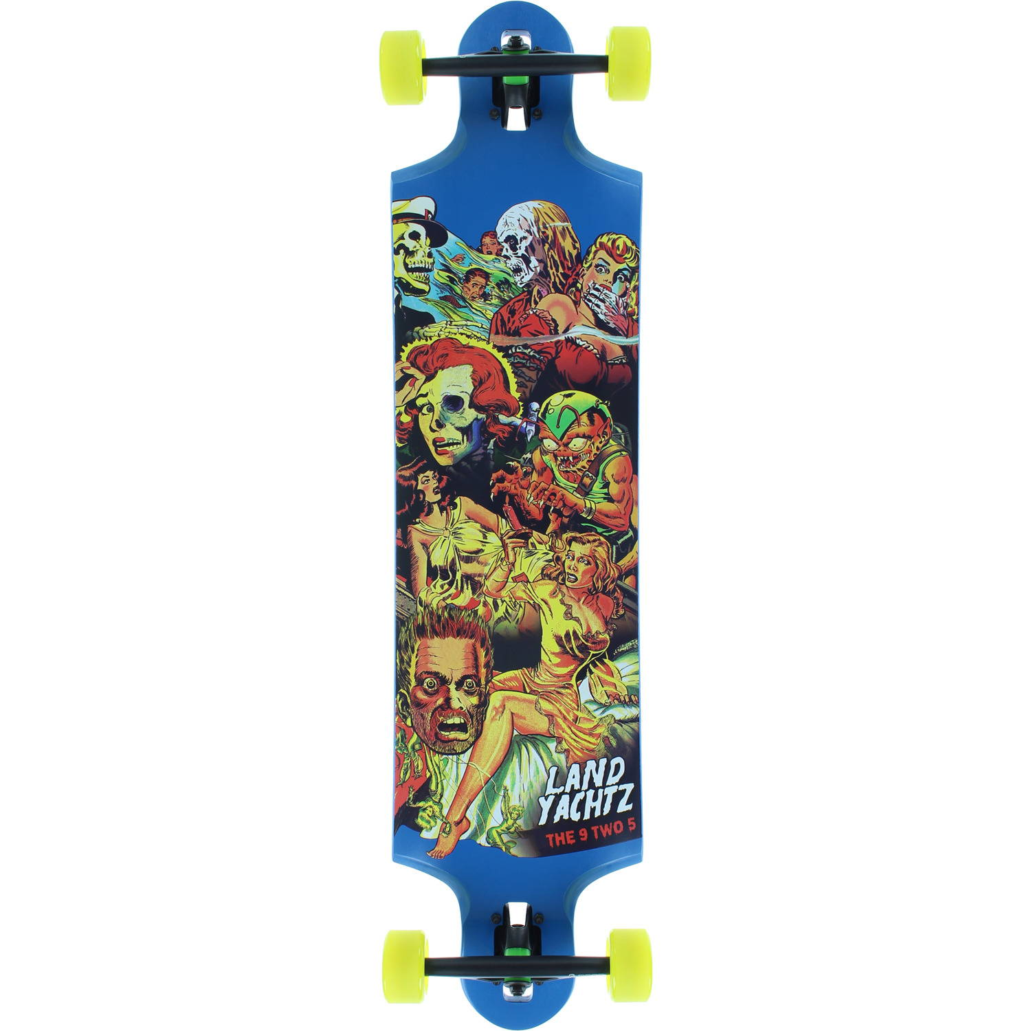 Landyachtz Nine to Five Freeride Longboard