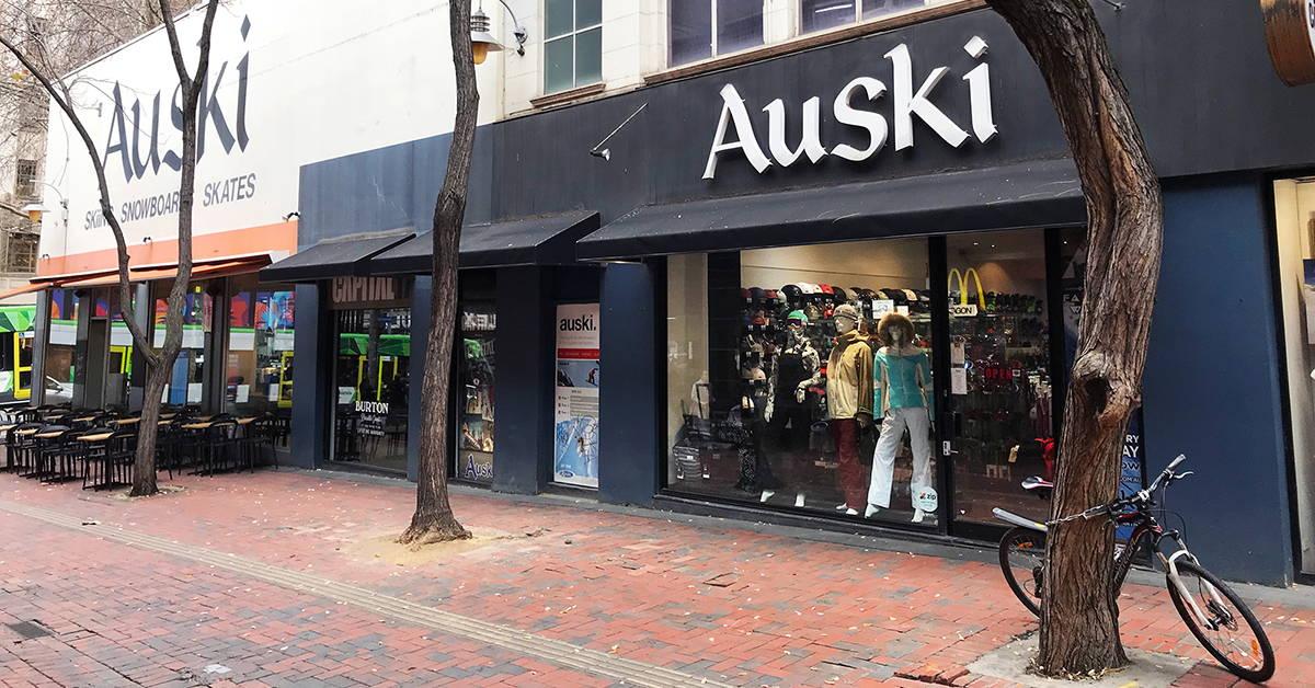 Auski Melbourne shopfront