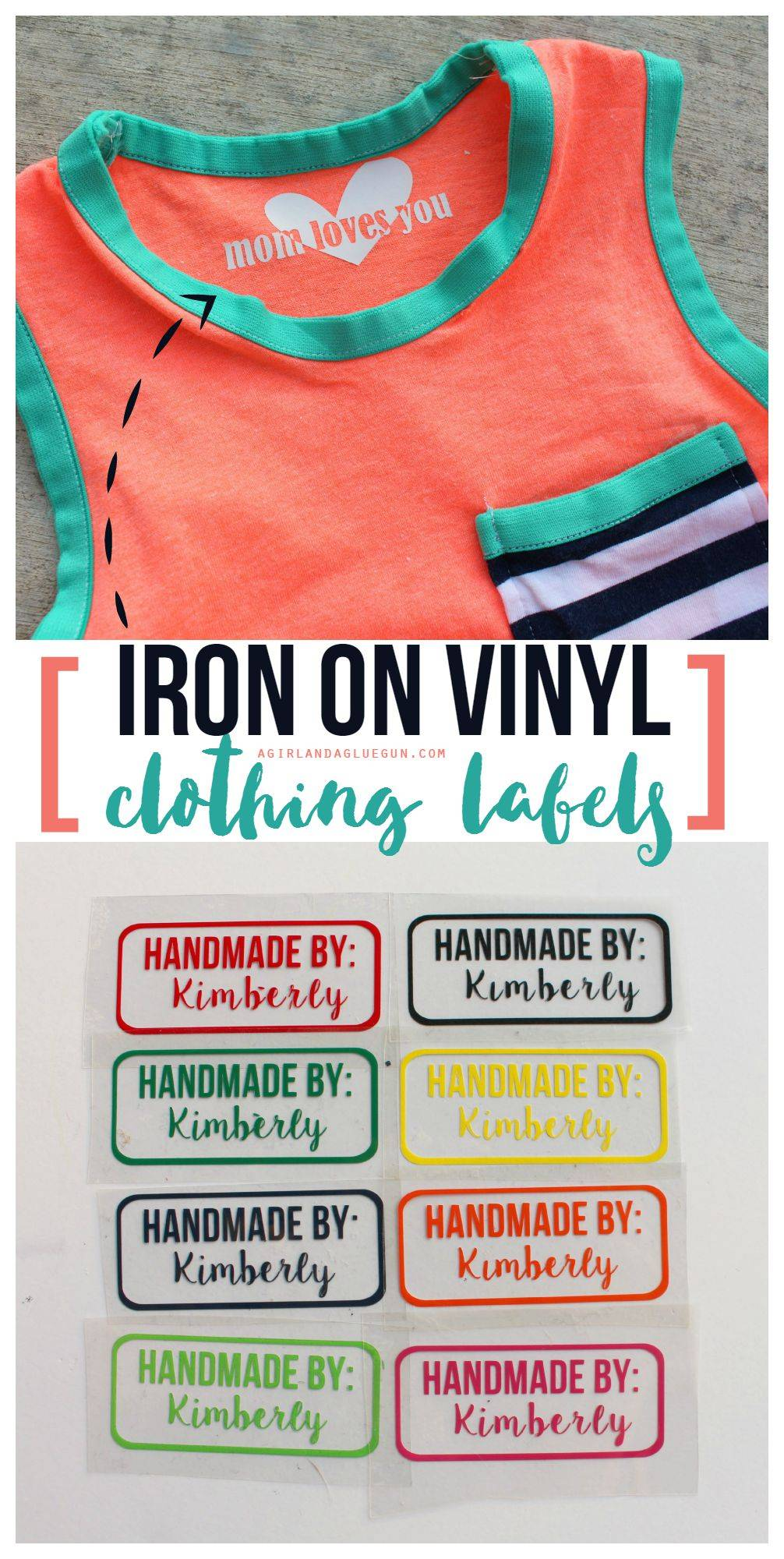 iron-on vinyl projects to try with kids!