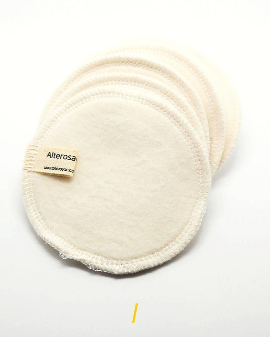 Les cotons demaquillants lavables ecologique - Alterosac