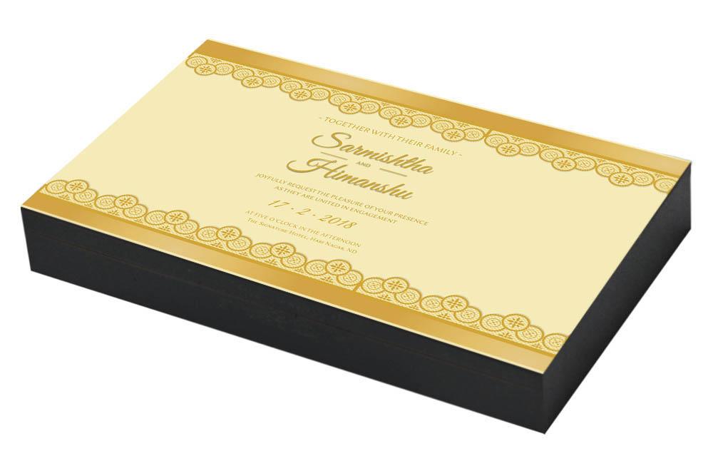 Royal Engagement ceremony Invitation