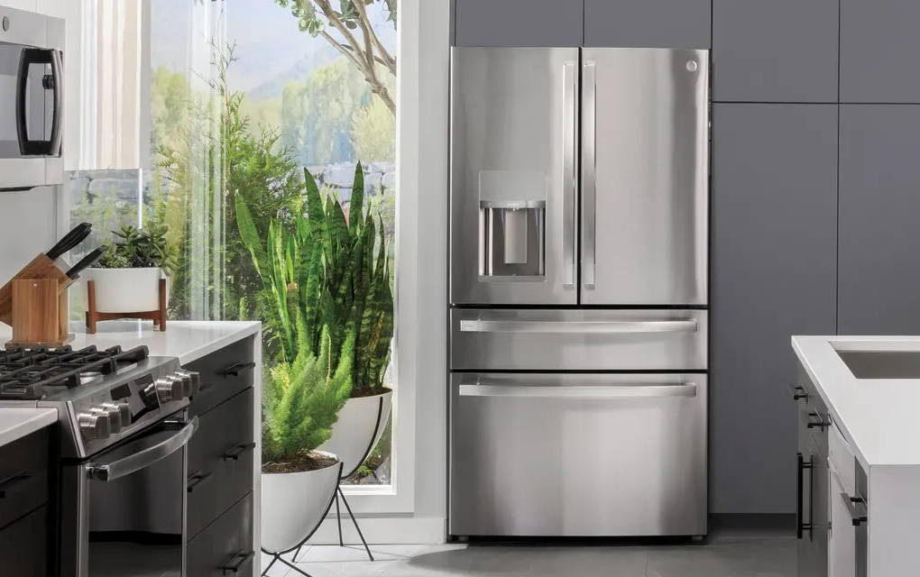 GE Profile Smart Refrigerator in Kitchen