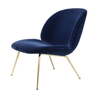Modern Blue Lounge Chairs